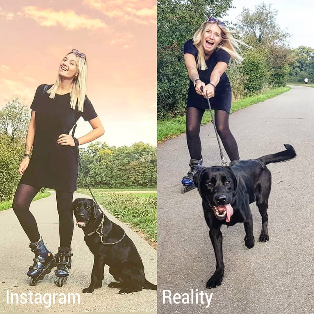 Girl Compared Real Life And What It's Shown On Instagram (15 Photos)