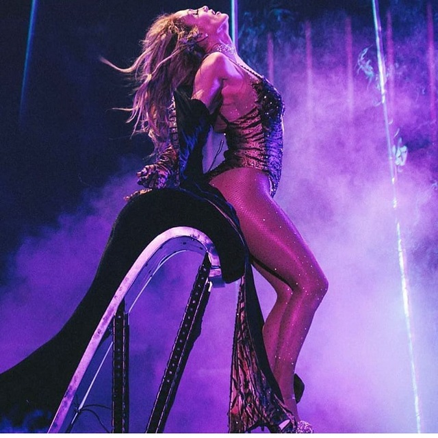 50-Year-Old Jennifer Lopez Admires Fans With Her Figure