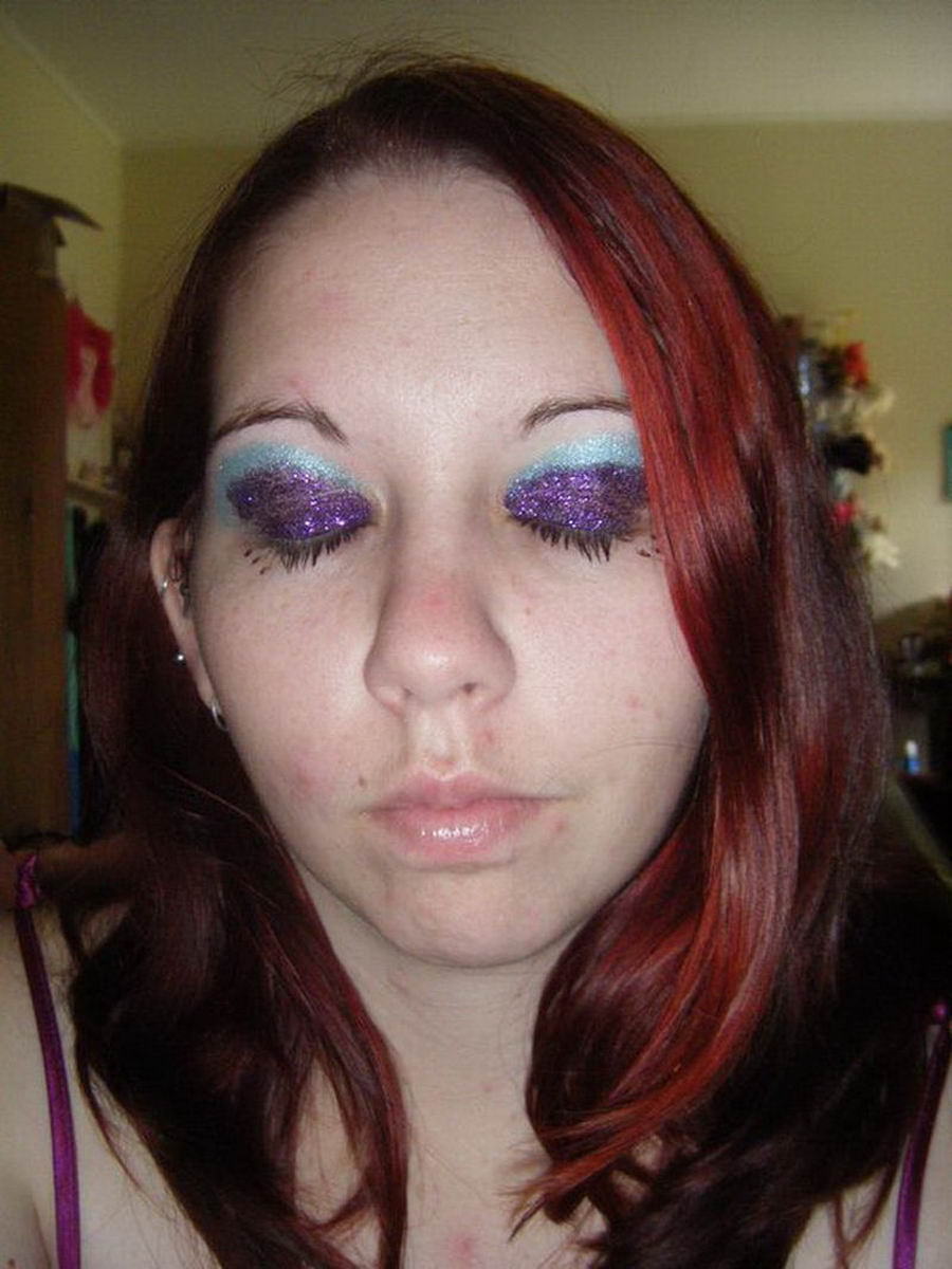 Ugly Girls Who Are Trying To Look Beautiful (62 Photos