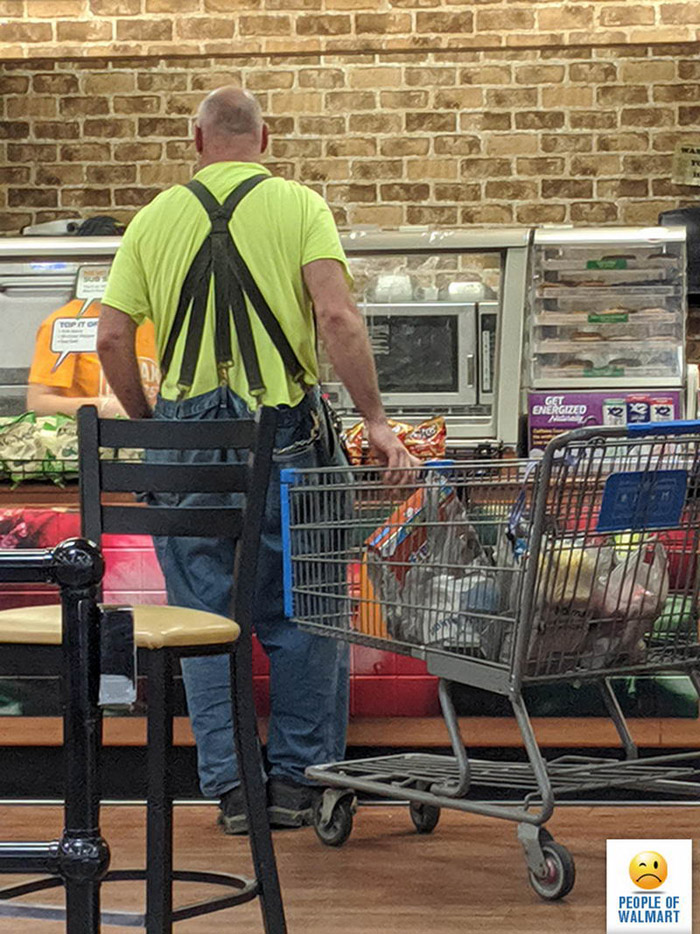 Weirdest People Of Walmart (40 Photos)