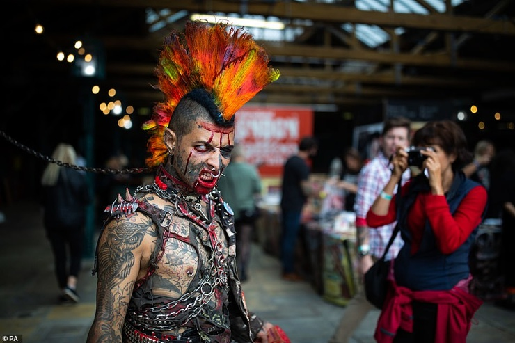 London International Tattoo Convention (28 Photos)