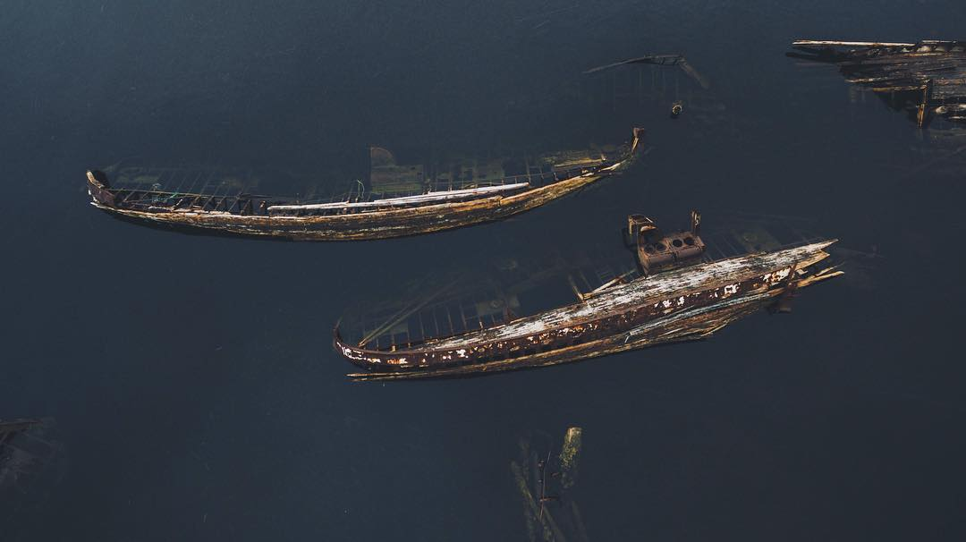 Surreal Abandoned Places From Above (42 Photos)