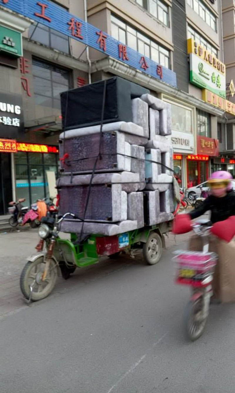 Most Funny And Strange Pictures From Asia (29 Photos)