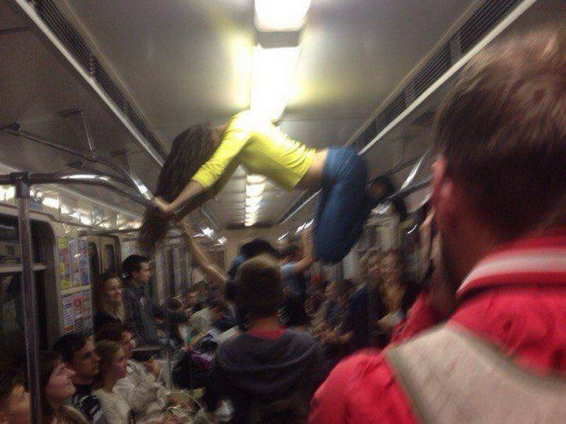 Here's Why Men Like Public Transport (65 Photos)