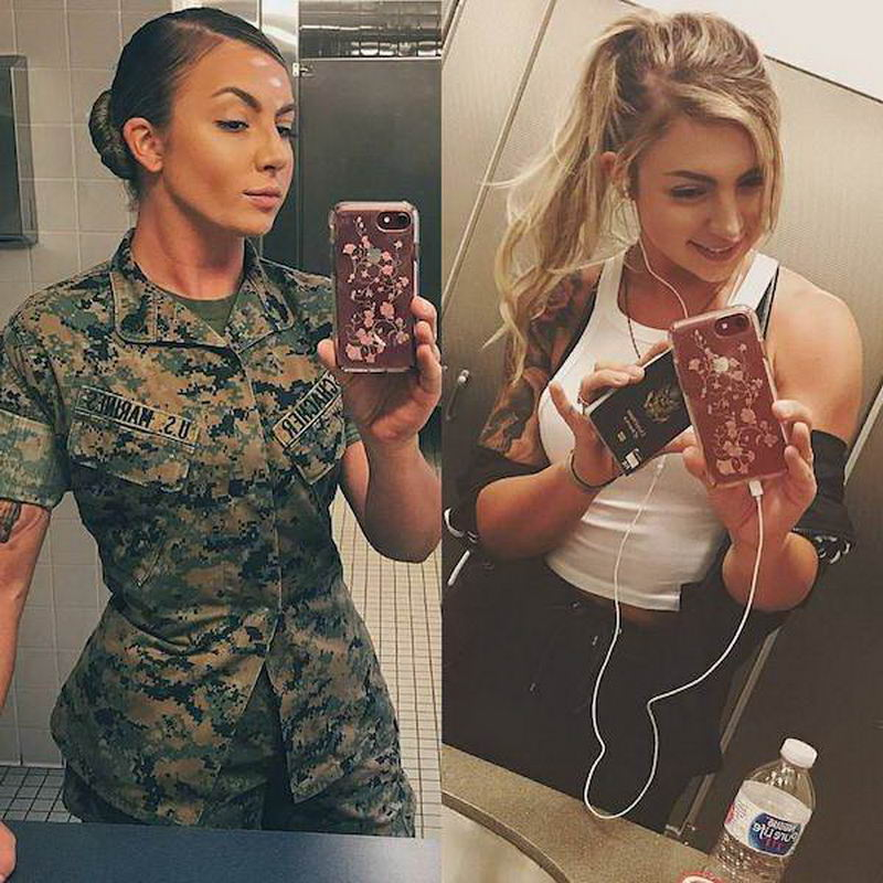 Hot Girls In And Out Of Uniform (50 Photos)