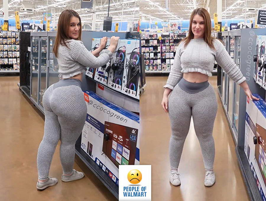 Weirdest People Of Walmart (38 Photos)
