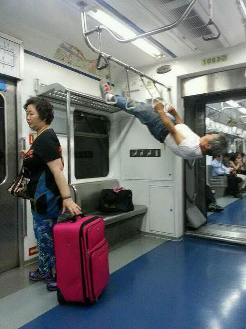Most Funny And Strange Pictures From Asia (38 Photos)