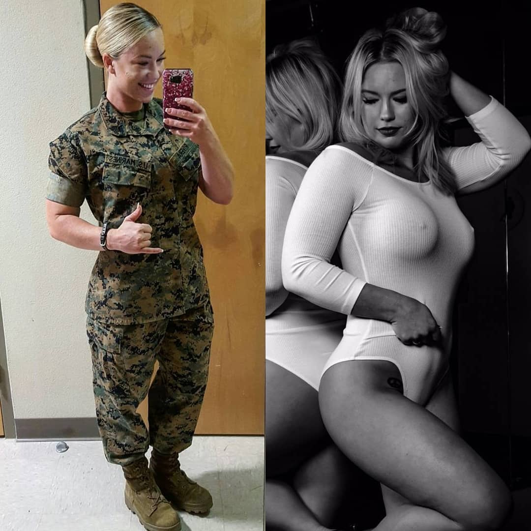 Hot Girls In And Out Of Uniform (35 Photos)