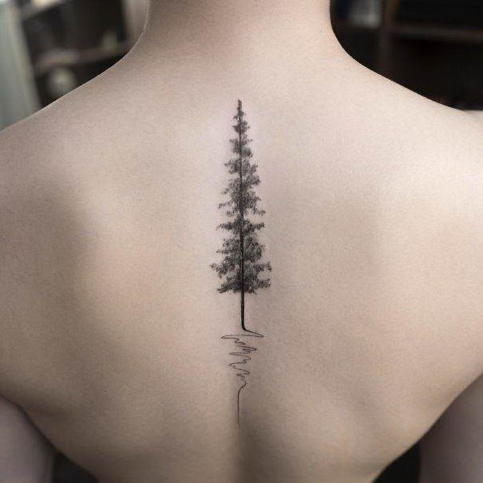 Cool Spine Tattoos Ideas (40 Photos)
