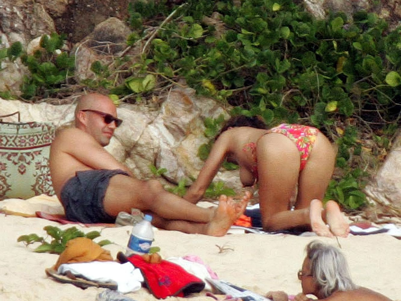 Re-Visiting When Kelly Brook was Topless in St. Barts! (NSFW)