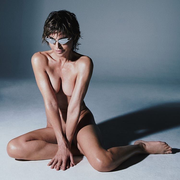 Lisa Rinna Nude and Promoting SPECS!