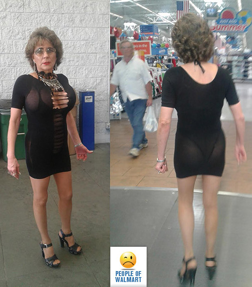 40+ Funny And Weird People Of Walmart