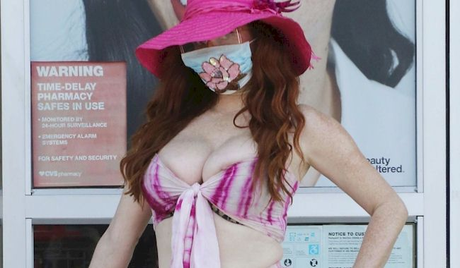 Phoebe Price Nip Slips at the Pharmacy! (NSFW)