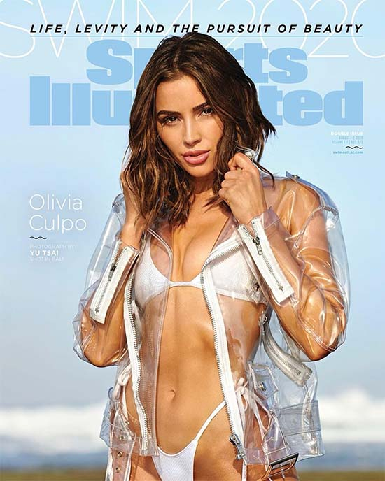 Olivia Culpo Sizzles on Sports Illustrated Swimsuit Cover