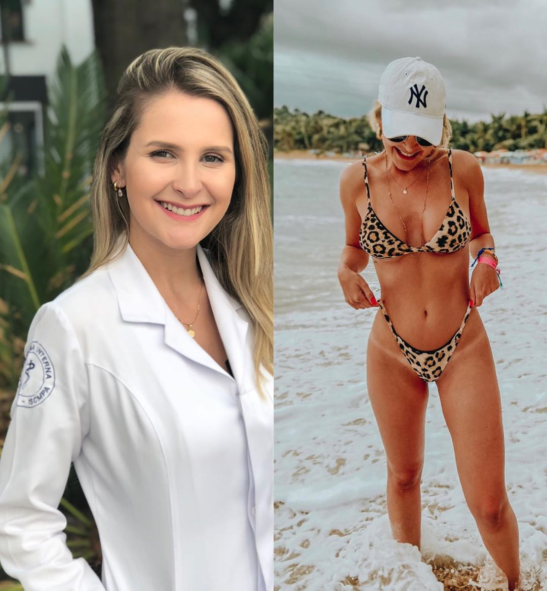 Women Healthcare Workers Post #MedBikini Pics (28 Pics)