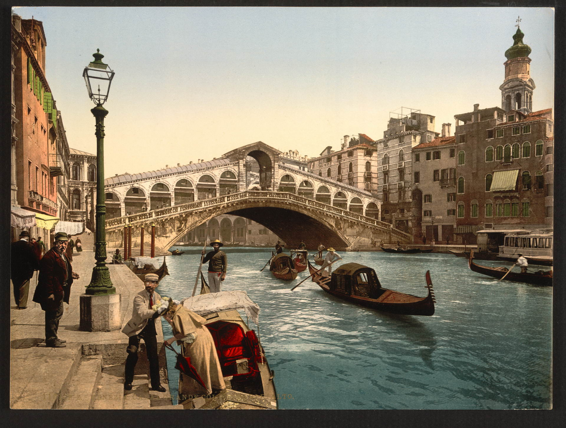 59 Colored Retro Photographs Of Italy At The End Of The 19th Century