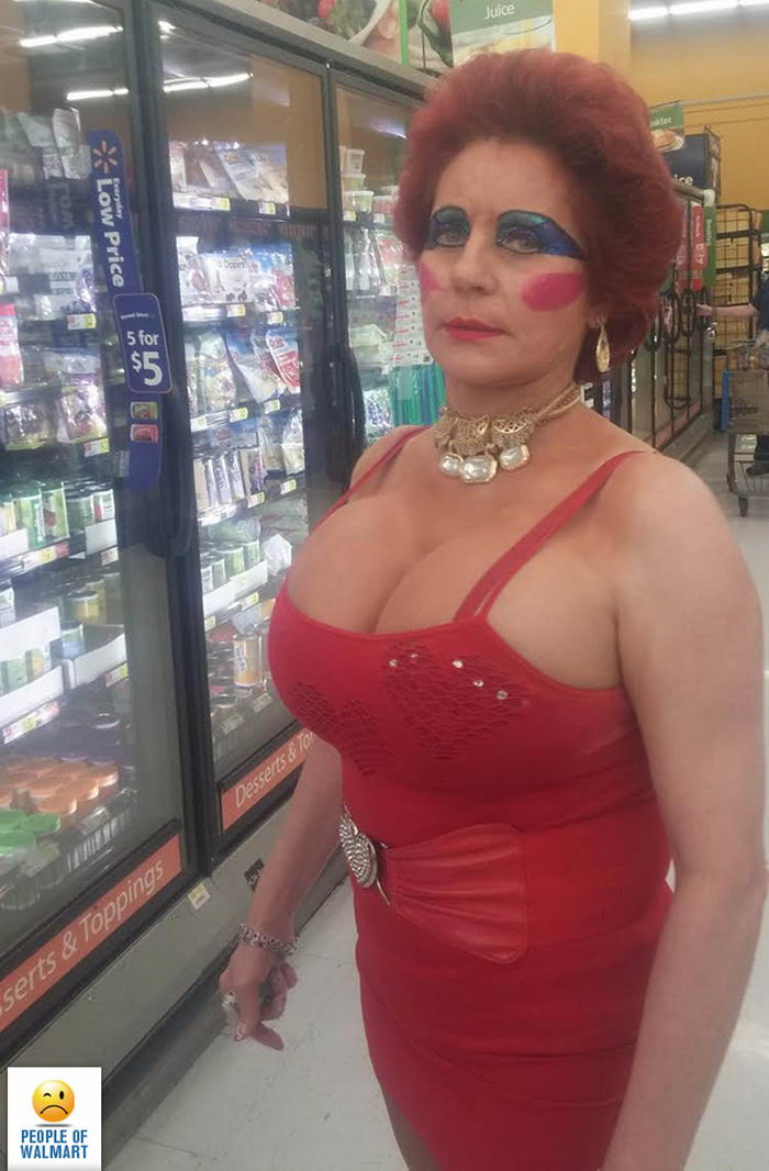 36+ Funny And Weird People Of Walmart