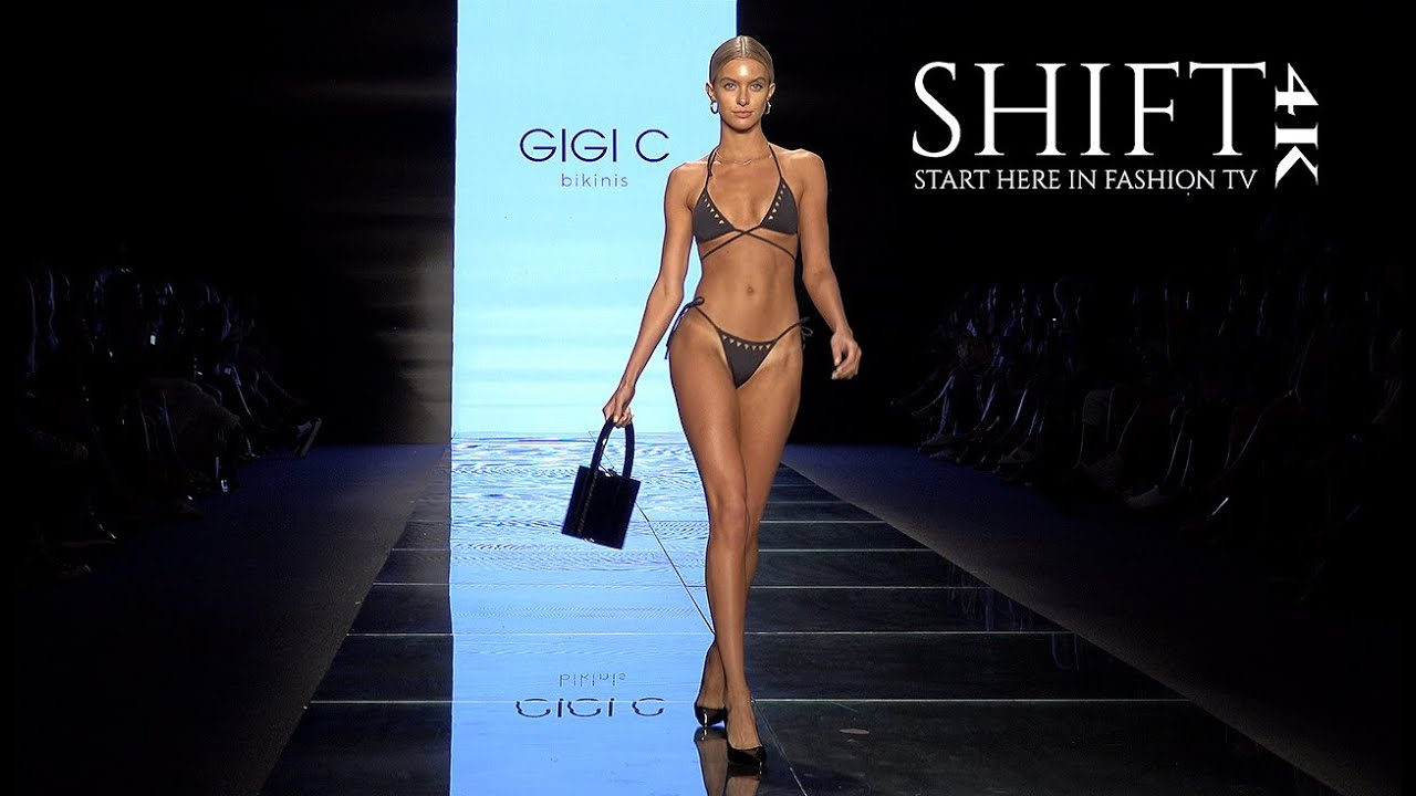 GIGI C BIKINIS 4K UNCUT / 2019 Swimwear Collection / Miami Swim Week 2018