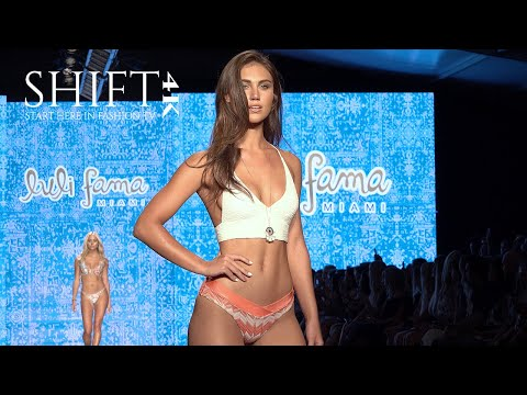 LULI FAMA 4K UNCUT / 2019 Swimwear Collection / Miami Swim Week 2018