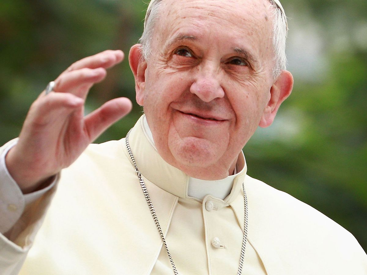 Pope Endorses Same-Sex Civil Unions for First Time