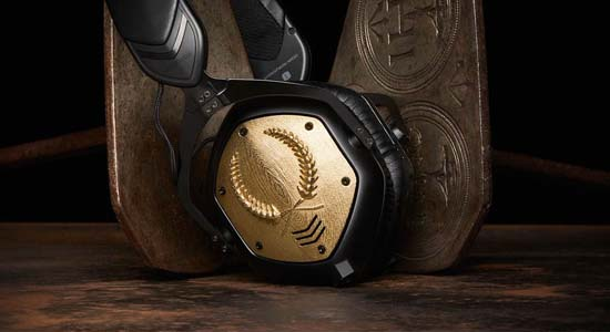 V-Moda Unveils 3D Printed Headphones With Gold Plates $40,000