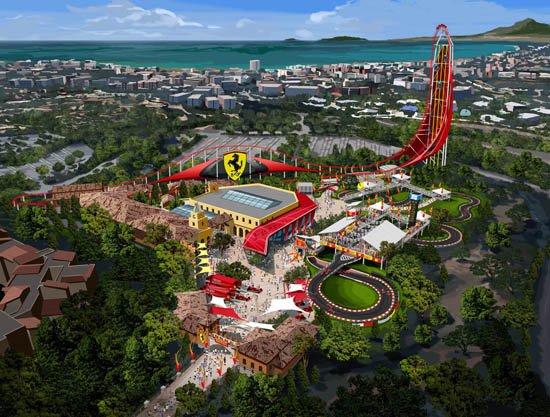 Ferrari Land theme park to open in Spain