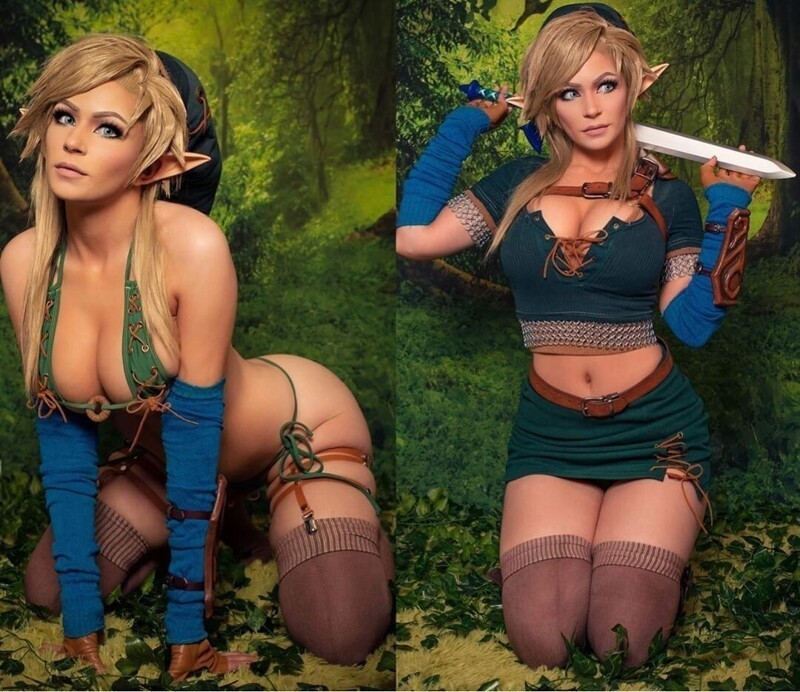 Hot Cosplay Girls Will Outshine Your Mind (38 Photos + 2 GIFs)