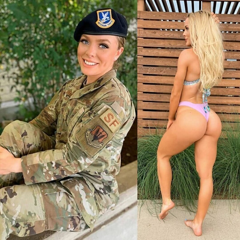 Hot Girls In And Out Of Uniform (35 Photos + 5 GIFs)