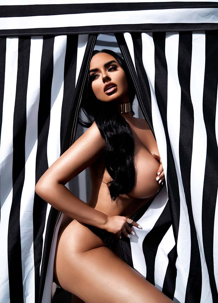 Abigail Ratchford Unveils Black and White Coffee Table Book