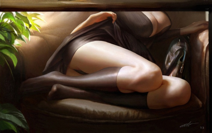 Cool Anime Art And Fantasy Drawings (60 Photos)