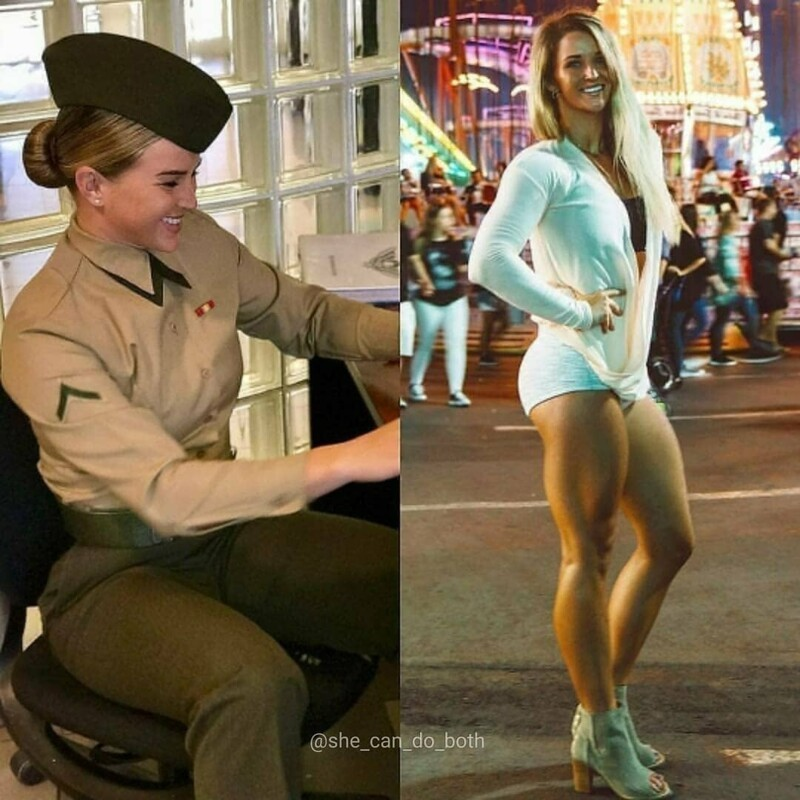 Hot Girls In And Out Of Uniform (34 Photos)