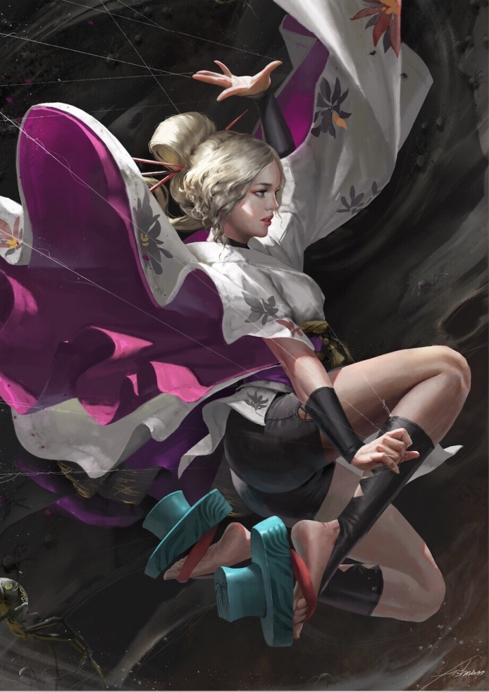 51 Cool Illustrations Of Fantasy And Anime Art