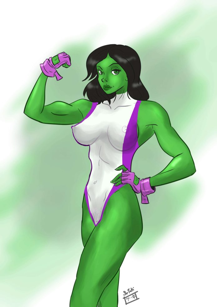 She-Hulk Hottest Pictures (41 Photos)