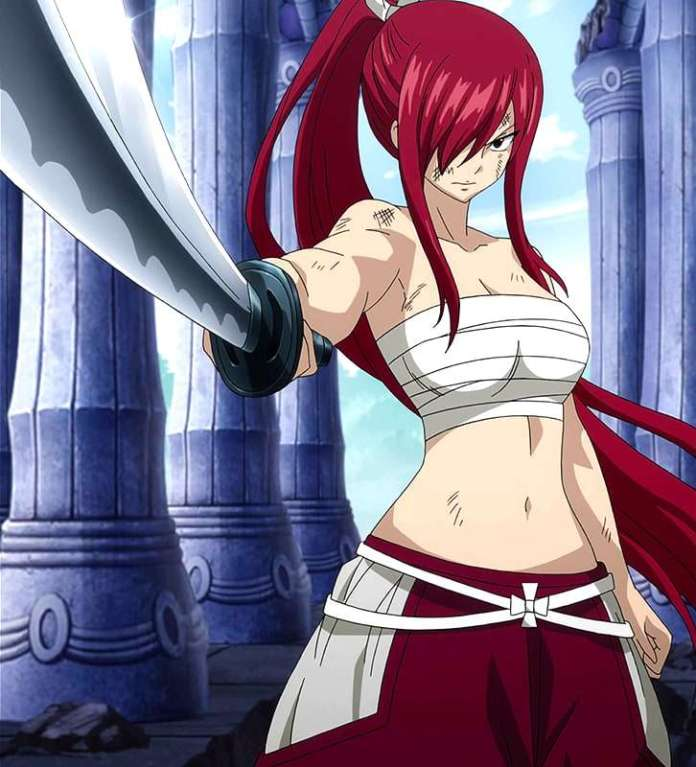 Erza Scarlet Sexiest Pictures (41 Photos)